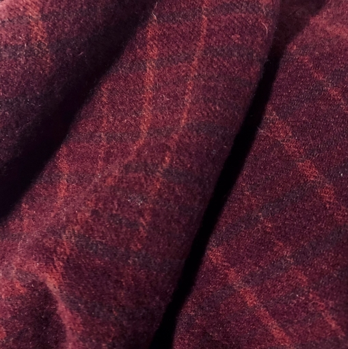 A Beautiful and Vibrant Red Wool