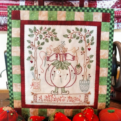 Picture of A Stitcher's Angel - Hand Embroidery Complete Kit