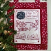 Days 'til Santa Comes Pattern for Hand Embroidery