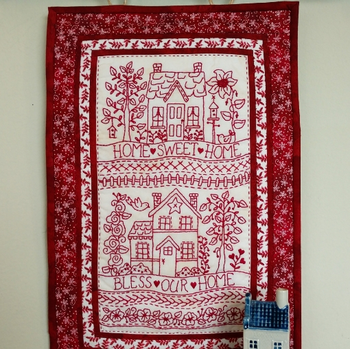 Picture of Home Sweet Home - Hand Embroidery Pattern