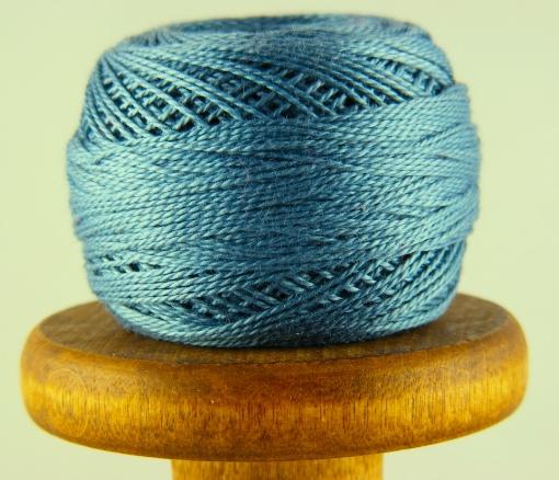 Picture of DMC Perle Cotton Medium Antique Blue #931