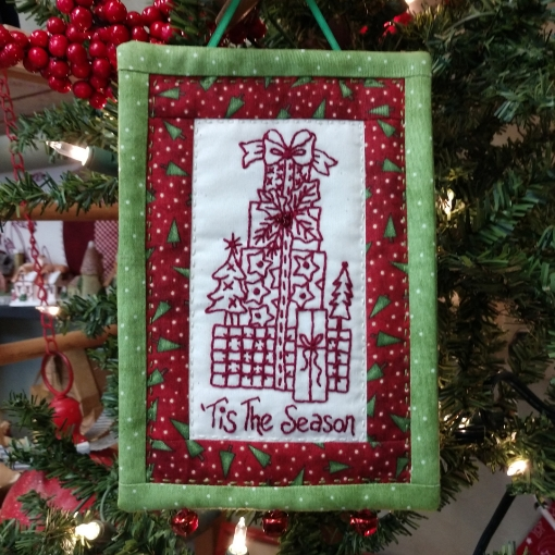 Picture of 'Tis The Season - Machine Embroidery Pattern