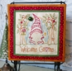 Picture of Welcome Gnome - Hand Embroidery Download Pattern