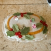 Holiday Holly Pin Cushion Wool Applique Pattern