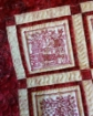 Houses in the Garden Hand Embroidery Quilt