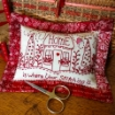 Home For Stitching Pin Cushion - Machine Embroidery Pattern