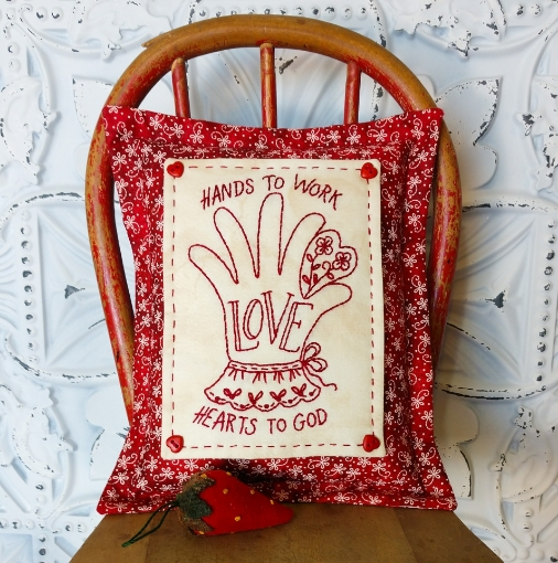 Picture of Hands To Work - Machine Embroidery Pattern