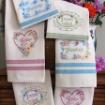 Love, Dream, Friendship Tea Towels Pattern - Machine Embroidery - Download