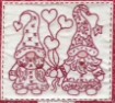 Gnomes in Love Hand Embroidery Pattern