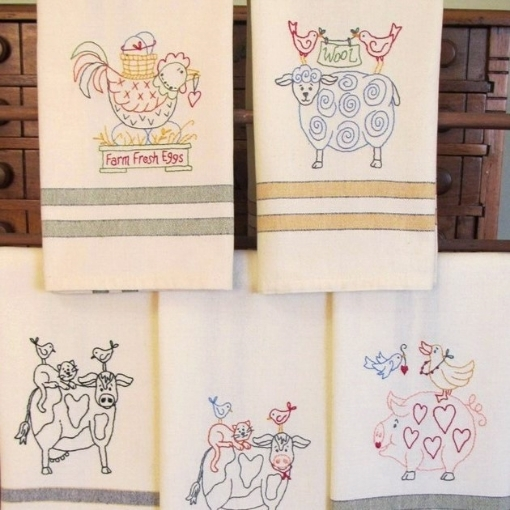 Picture of Animal Stackers - Machine Embroidery Pattern