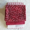 Floral Scroll RedWork Fabric Pack