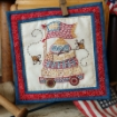 Picture of Bee Free- Hand Embroidery Pattern