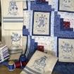 Days of the Week Snowmen - Machine Embroidery Pattern