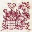 Bunny's Spring Garden - Machine Embroidery Pattern