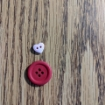 Picture of Red 4 Hole Buttons (Pack of 4)