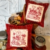 Picture of Bunny's Spring Garden - Hand Embroidery Pattern Download