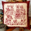 Picture of Bunny's Spring Garden - Hand Embroidery Pattern Shipped