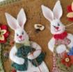 Woolen Bunny Garden - Wool Applique Pattern - Download