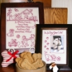 Dog's Perfect World RedWork - Hand Embroidery Pattern