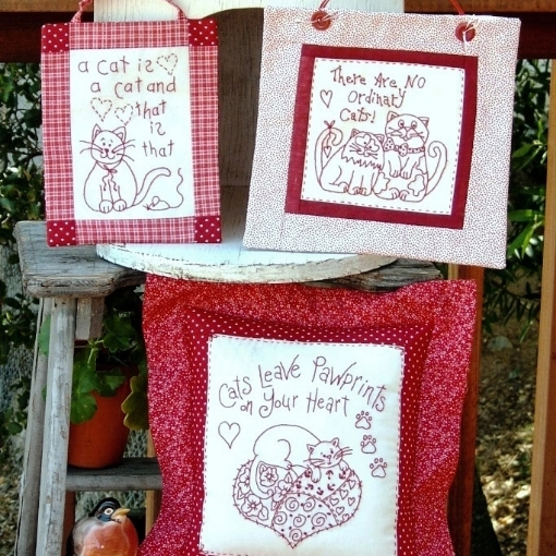 A Cat is a Cat - Machine Embroidery Pattern