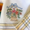 Mother's Day Tea Towel - Hand Embroidery Pattern