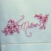 Friends and Family RedWork - Hand Embroidery Pattern