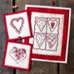 Picture of Patchwork Hearts - Hand Embroidery Pattern