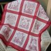 Friendship's Garden Quilt - Embroidery Pattern