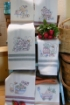 Fresh Picked Tea Towels - Hand Embroidery Pattern