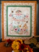 Autumn Bounty Scarecrow - Hand Embroidery Complete Kit