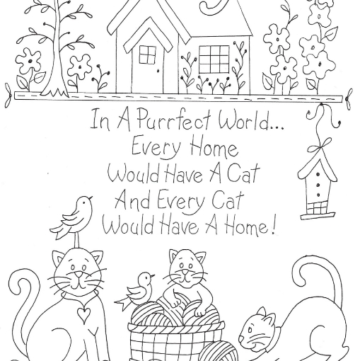 Picture of Cat's Purrfect World - BBD-NoTrace
