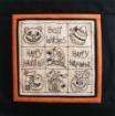 Halloween Sampler Pillow - Hand Embroidery Pattern