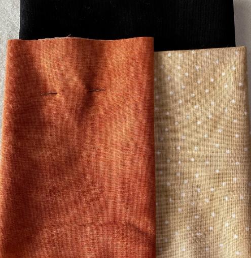 Halloween Sampler Pillow - Fabric Pack
