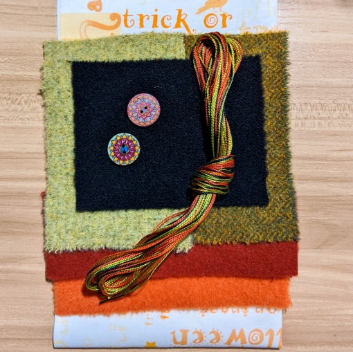 Jack's Ride - Wool Applique Fabric Pack