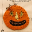 Happy Halloween Pins - Wool Applique Pattern