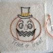 Happy Halloween Hand Embroidery Pattern