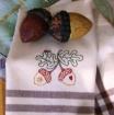 Autumn Acorn Tea Towels -  BBD No-Trace