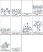 Home and Heart RedWork Quilt - Machine Embroidery Pattern